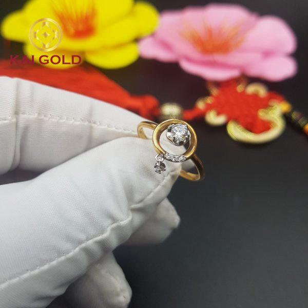 Nhan Vang Y 18k 750 Kaigold 2