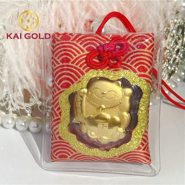 Bua May Man Meo Chieu Tai Vang 24k Kaigold 1