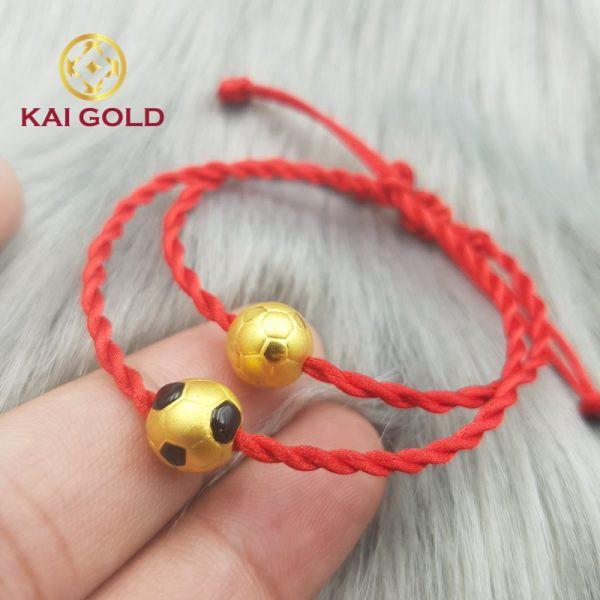 Charm Trai Banh Vang 24k 9999 Size 1 Kaigold 1