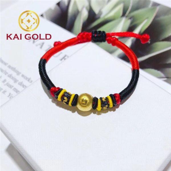 Charm Trai Banh Vang 24k 9999 Size 1 Kaigold 3