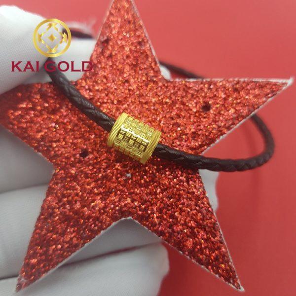 Charm Tru Vang 24k 9999 5d Kaigold 10