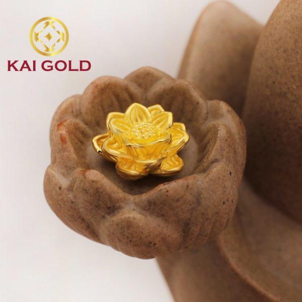 Hoa Sen Vang 24k 9999 Size 1 Kaigold 2