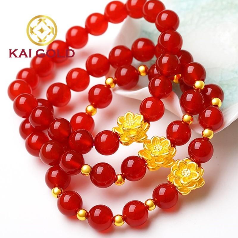 Hoa Sen Vang 24k 9999 Size 1 Kaigold 5