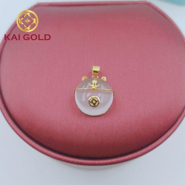 Mat Day Meo Chieu Tai Vang 24k 9999 Thach Anh Hong Kaigold 2