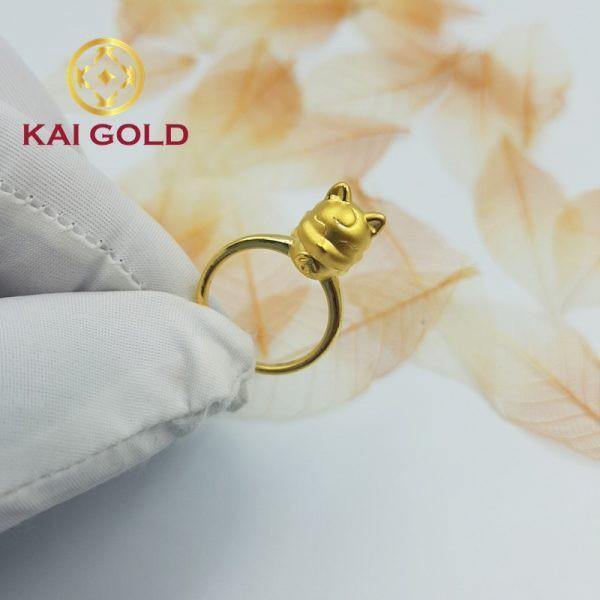 Nhan Ho Ly 9 Duoi Vang 24k 9999 Kaigold 2