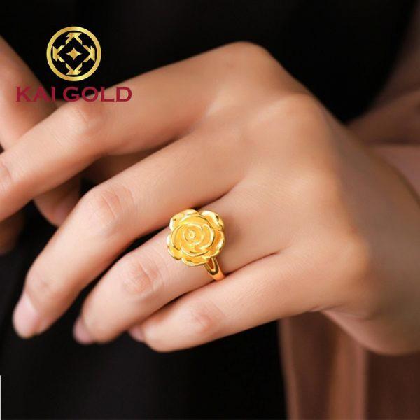 Nhan Hoa Hong Vang 24k 9999 Kaigold 1