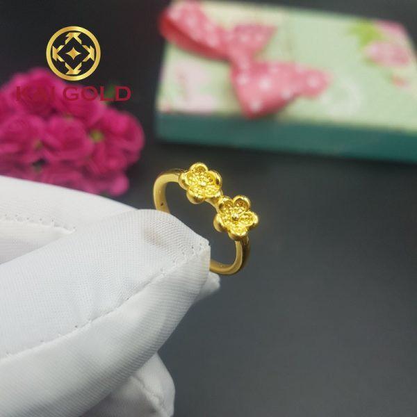 Nhan Hoa Mai Vang 24k 9999 Kaigold 1