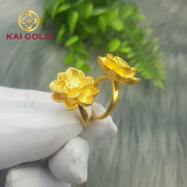 Nhan Hoa Sen Vang 24k 9999 Kaigold 1