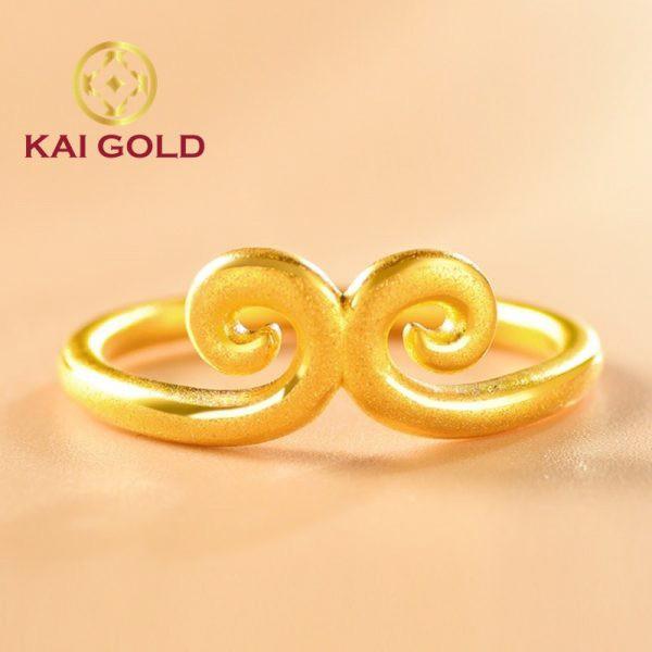 Nhan Kim Co Vang 24k 9999 Kaigold 2