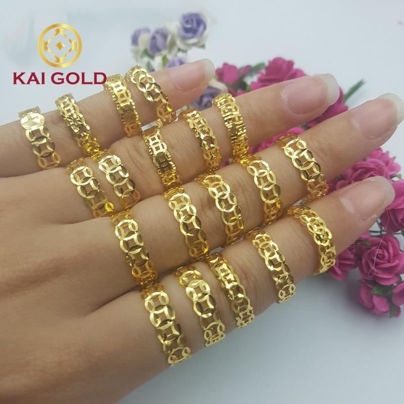 Nhan Kim Tien Vang 18k Kaigold 6