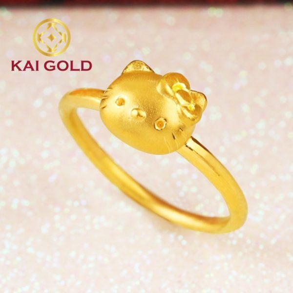 Nhan Meo Kitty Vang 24k 9999 Kaigold 2