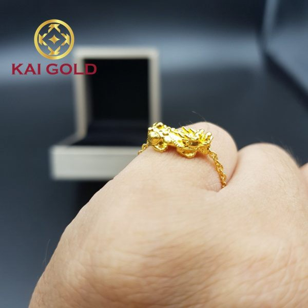 Nhan Ty Huu Vang 24k 9999 Kaigold 1
