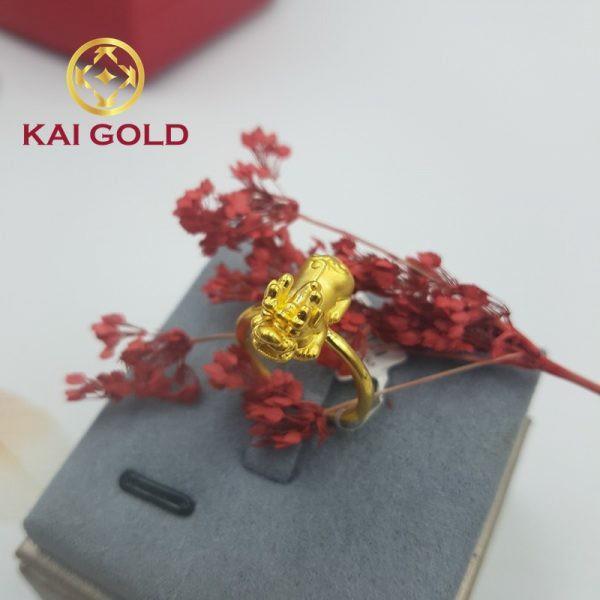 Nhan Ty Huu Vang 24k 9999 Kaigold 3