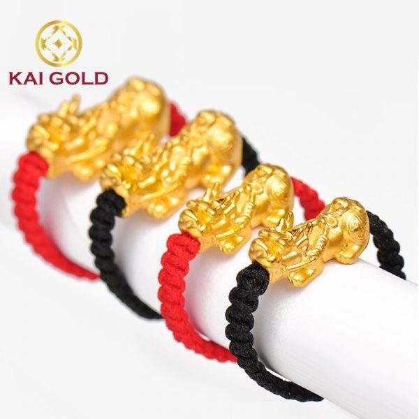 Nhan Ty Huu Vang 24k 9999 Tet Day Size 2 Kaigold 1