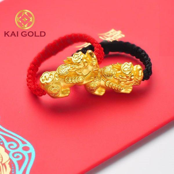 Nhan Ty Huu Vang 24k 9999 Tet Day Size 2 Kaigold 2