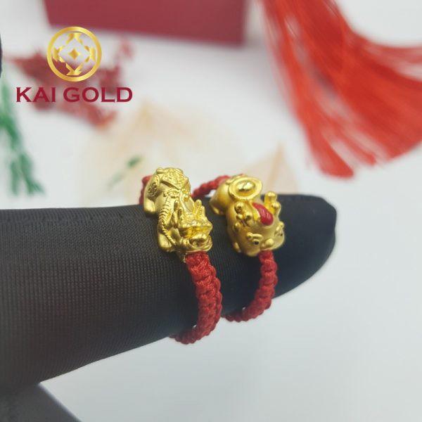 Nhan Ty Huu Vang 24k 9999 Tet Day Size 2 Kaigold 3