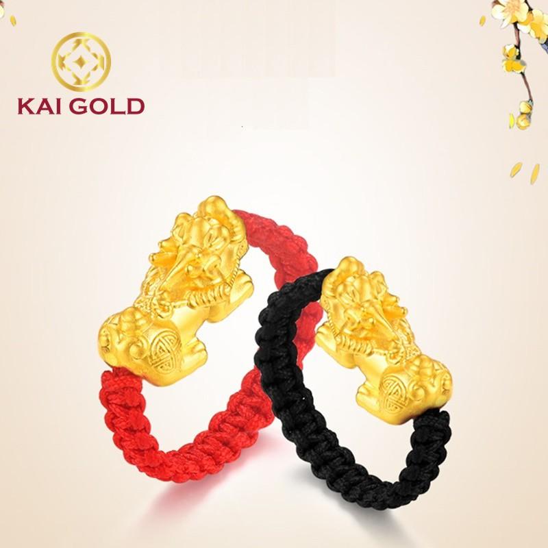 Nhan Ty Huu Vang 24k 9999 Tet Day Size 2 Kaigold 4