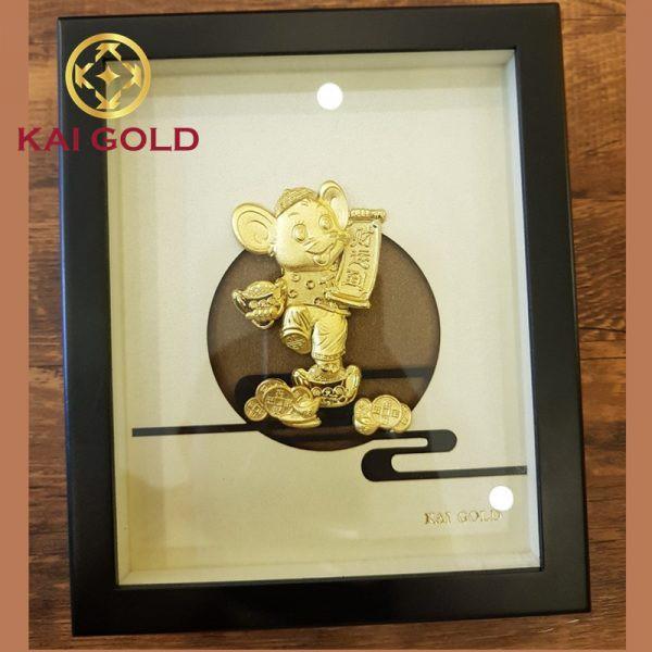 Tranh Kim Ty Dat Vang 24k Kaigold 1