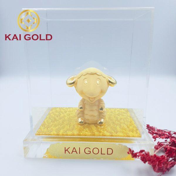 Tuong 12 Con Giap Mui Ma Vang Kaigold 1