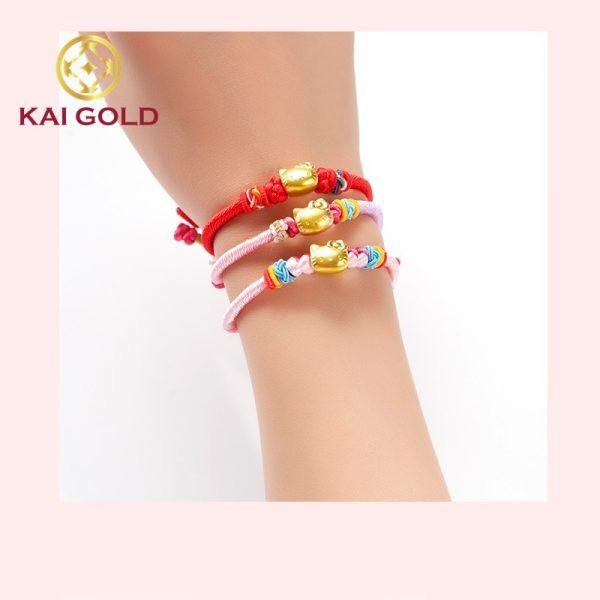 Vong Tay Hello Kitty Vang 24k Dan Day Vai Ms207 Kaigold 2