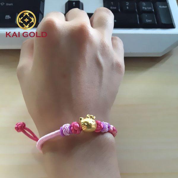 Vong Tay Hello Kitty Vang 24k Dan Day Vai Ms207 Kaigold 3
