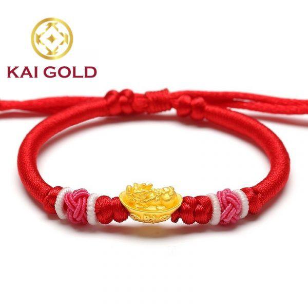 Vong Tay Nen Vang Ty Huu Size 1 Vang 24k 9999 Dan Day Handmade Kaigold 2