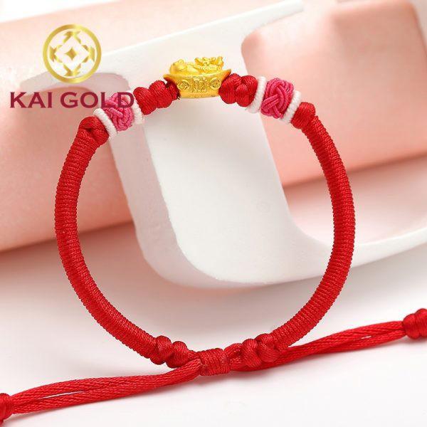 Vong Tay Nen Vang Ty Huu Size 1 Vang 24k 9999 Dan Day Handmade Kaigold 3