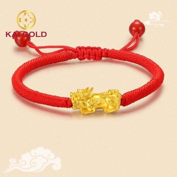 Vong Tay Ty Huu Size 2 Vang 24k 9999 Dan Day Handmade Kaigold 2