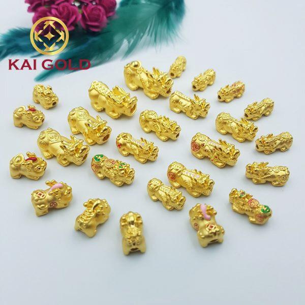 Vong Tay Ty Huu Size 2s Vang 24k 9999 Mix Kim Nguyen Bao Dan Day Handmade Kaigold 1