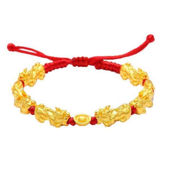 Vong Tay Ty Huu Size 2s Vang 24k 9999 Mix Kim Nguyen Bao Dan Day Handmade Kaigold