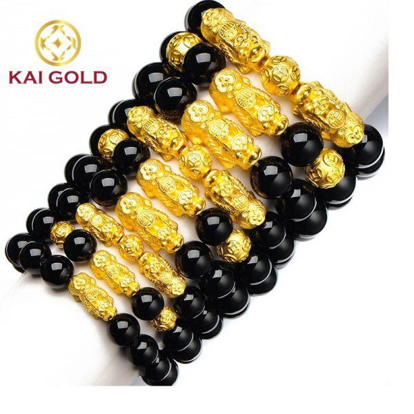 Vong Tay Ty Huu Size 3 Vang 24k 9999 Mix Chu Binh An Kaigold 3