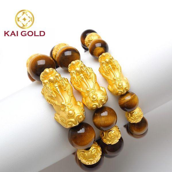 Vong Tay Ty Huu Vang Size 4 24k 9999 Mix Vong Da Mat Ho Kaigold 1