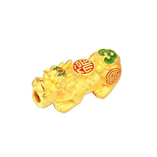 Charm Ty Huu Mau Vang 24k 9999