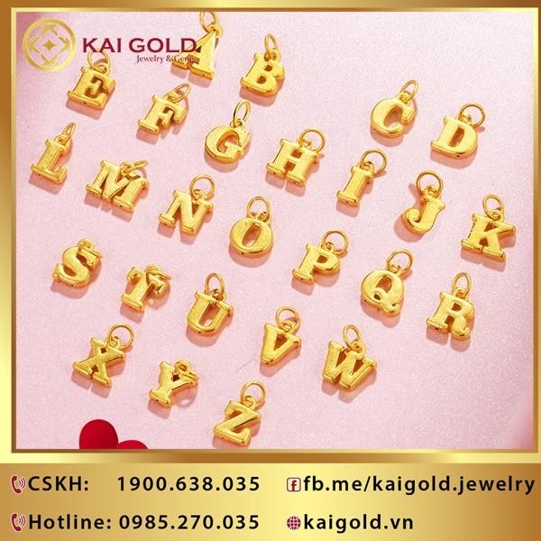 Charm Chu Cai Vang 24k 9999